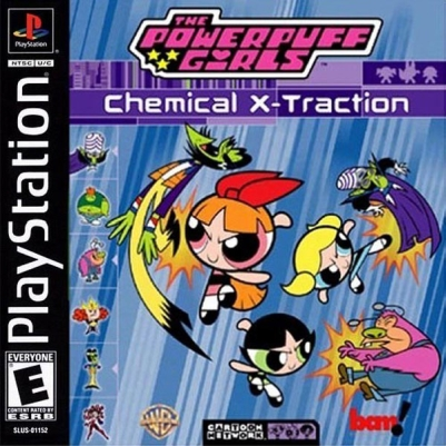 Powerpuff Girls Chemical XTraction
